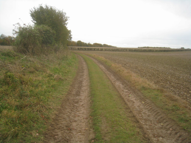 Track around Hither Villands Field