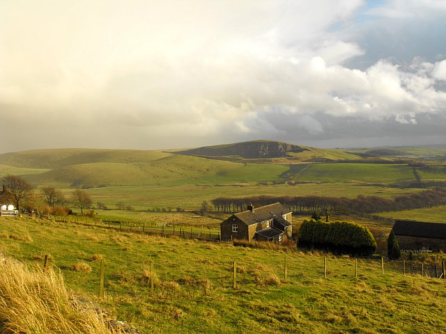 Hillside Farm, Rushup Edge