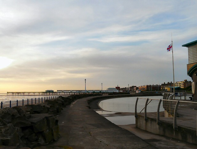 St Annes pier from the lifeboat station