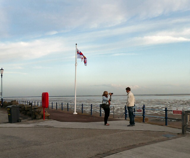Scene at St Annes on the Sea