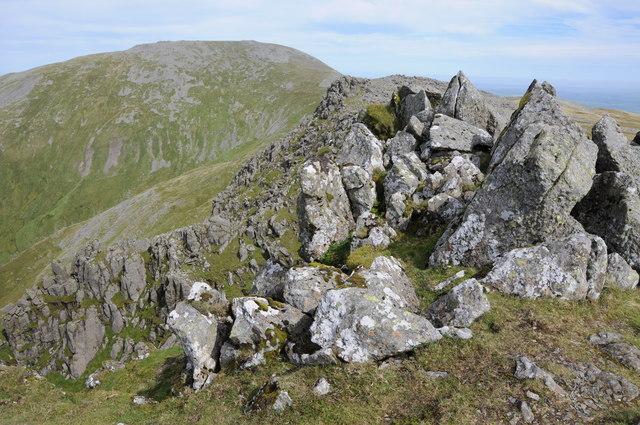Rocks on Cefn Ysgolion Duon