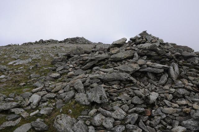 The summit of Carnedd Llewelyn