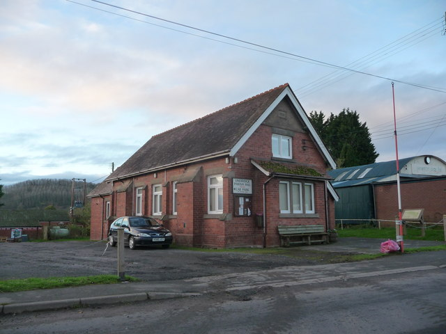 Lindridge Parish Hall, Eardiston, Worcs
