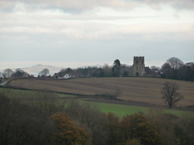 View to Rock church in November