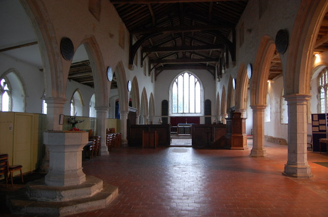 Interior, St George's church, Ivychurch