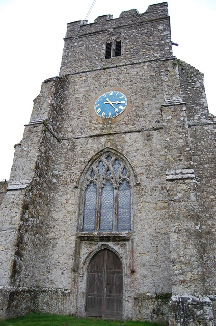 Tower, St George's church, Ivychurch
