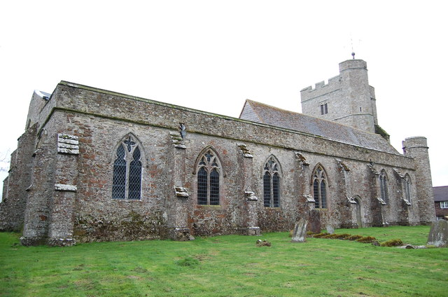 North side, St George's church, Ivychurch