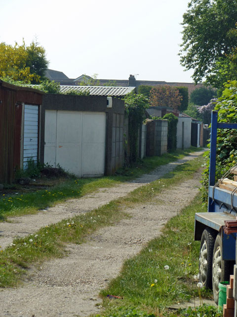 Back alley, Hornchurch