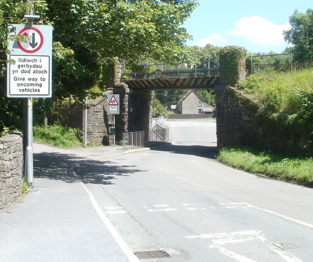 Bethlehem Road railway bridge, Ffairfach