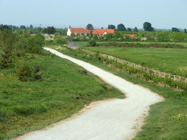 Path towards Albyns Farm