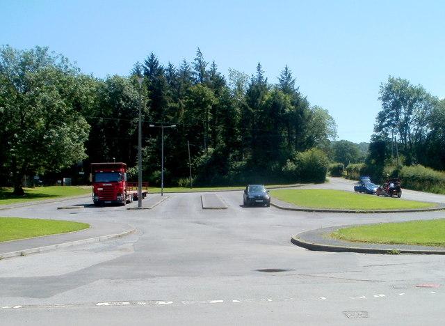 Parking area west of Ysgol Gyfun Tre-Gib, Ffairfach