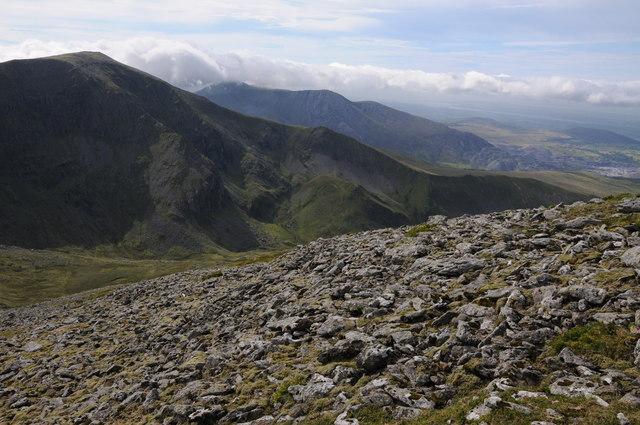View to Carnedd Dafydd