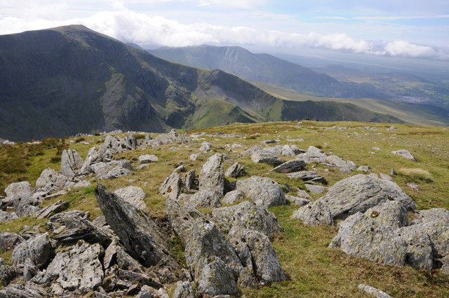 Western slopes of Carnedd Llewelyn