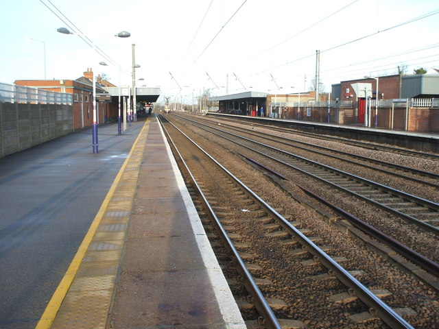 Hitchin railway station, Hertfordshire