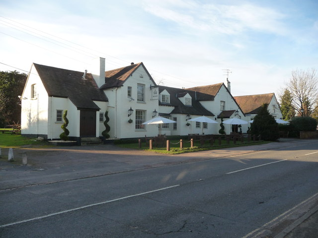 The Crown Inn, Hallow near Worcester