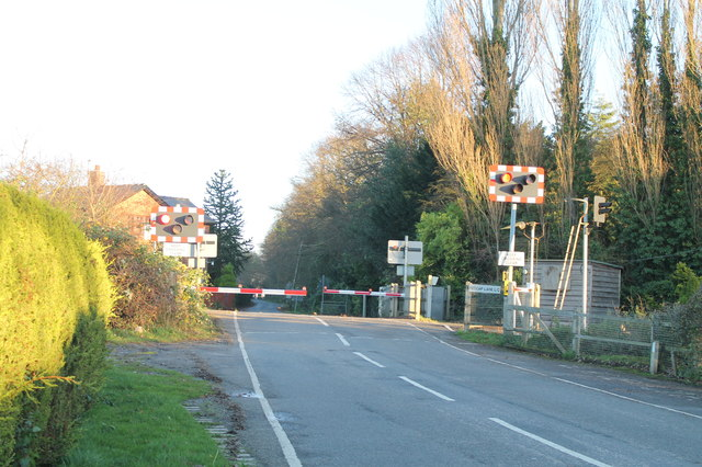 Red Cap Lane Level Crossing