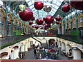 TQ3080 : Christmas decorations at Covent Garden : Week 48