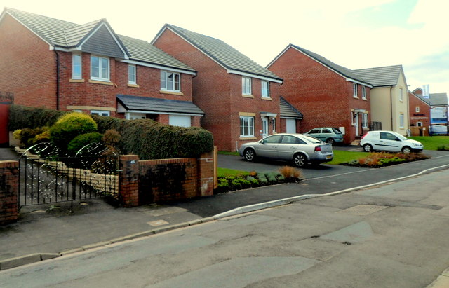 New Westfield Way houses, Malpas, Newport