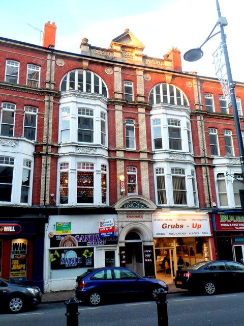 Grade II listed Highbury Chambers, Newport