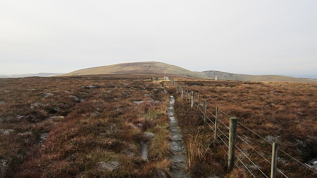 The Pennine Way meets Clennell Street