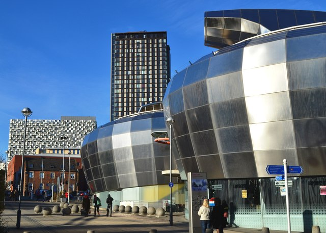 Modern Buildings In Sheffield City Neil Theasby Cc By