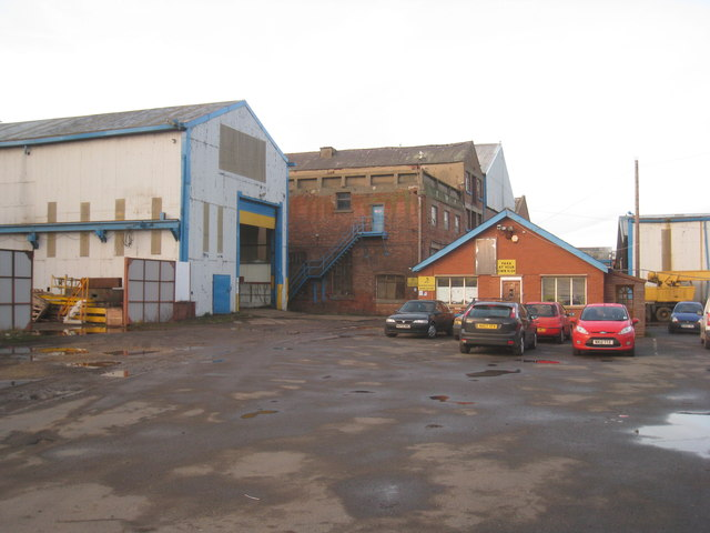 Industrial premises off Burn Road