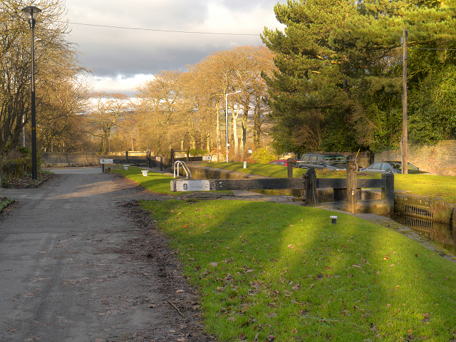 Peak Forest Canal, Lock#9 at Marple