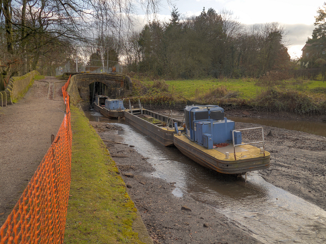 Restoration Work on the Peak Forest Canal at Marple
