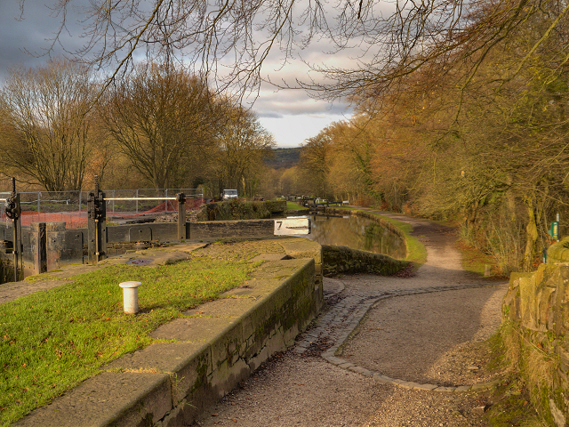 Peak Forest Canal at Lock#7