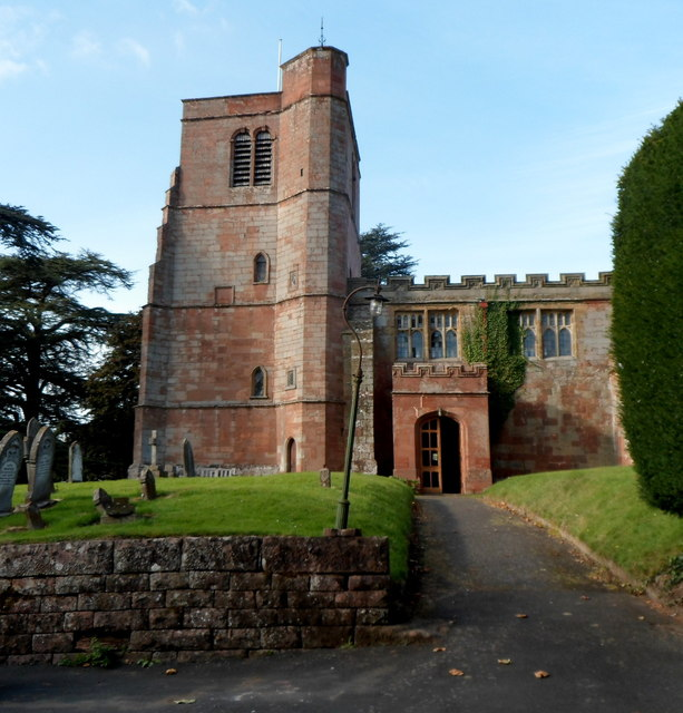 South side of St Peter's Church, Upper Arley