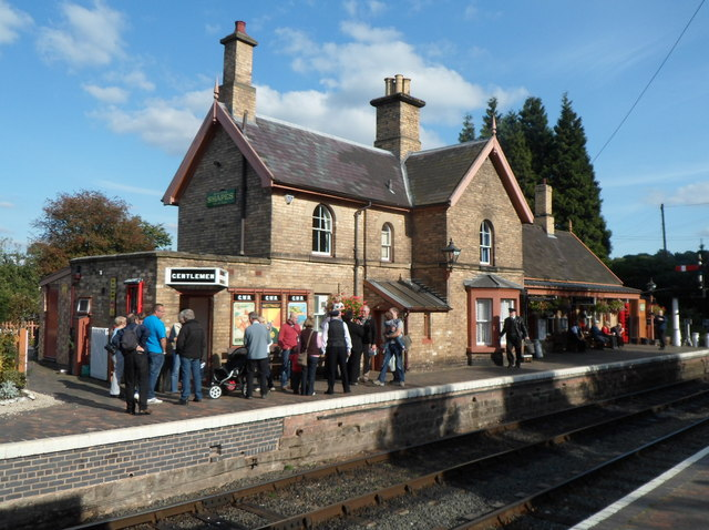 Arley railway station buildings