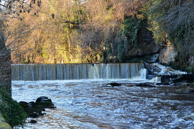 Cramond Falls, River Almond