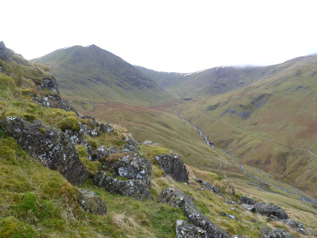 Descending Birkhouse Moor