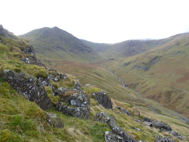 Descending Birkhouse Moor