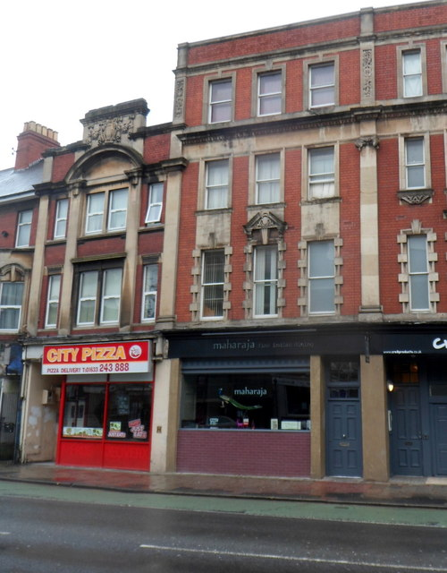 City Pizza and Maharaja, Clarence Place, Newport