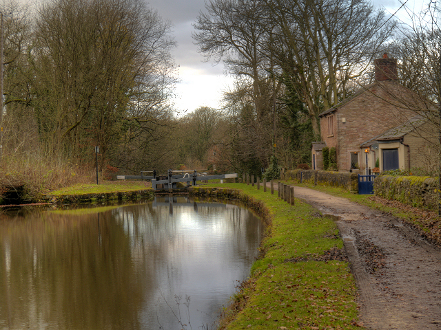 Peak Forest Canal, Bottom Lock