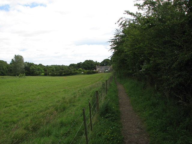 Public footpath near Morpeth
