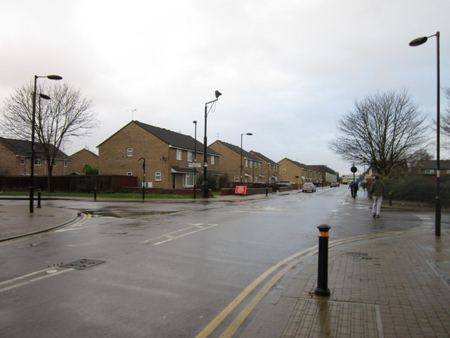 Woodcock Street at Dairycoates Avenue, Hull
