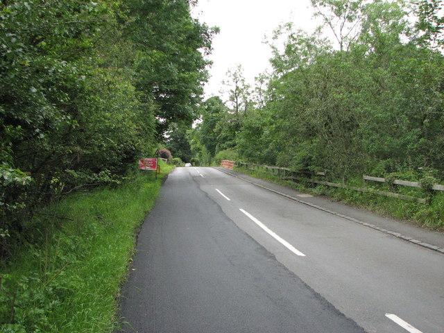 View along B6343