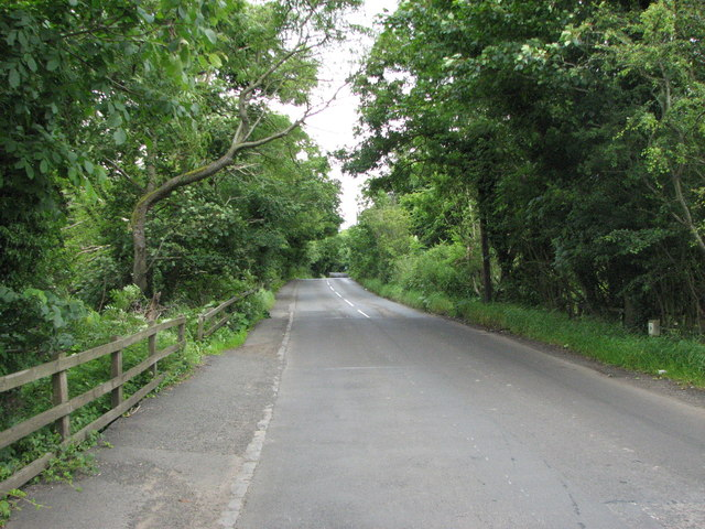 View along the B6343