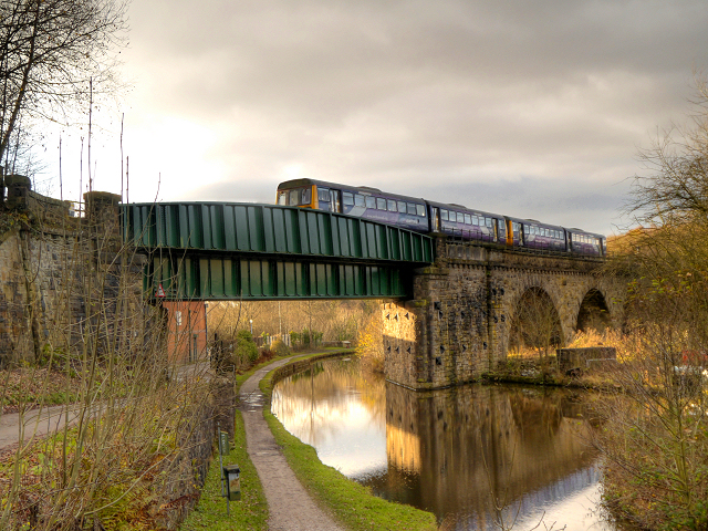Peak Forest Canal, Railway Bridge (#15A)