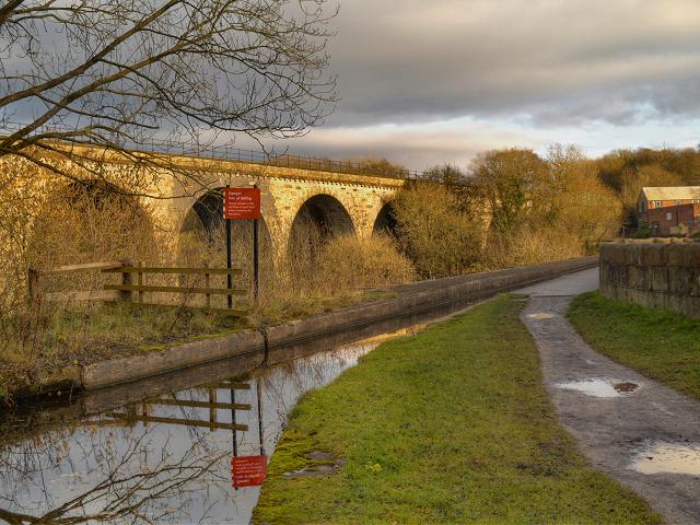 Marple Aqueduct, Peak Forest Canal,