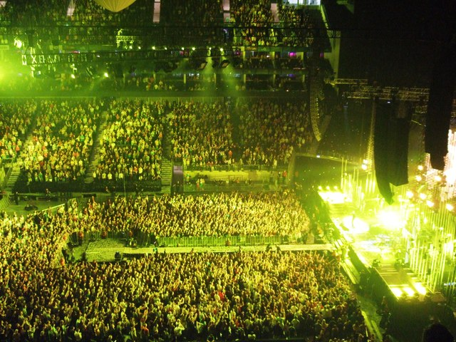 salle concert o2 londres