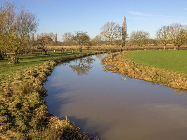 River Dene in Charlecote Park