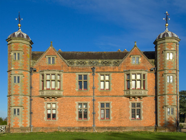 Charlecote House, south elevation