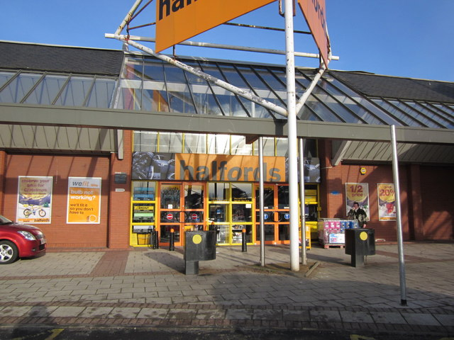 Halfords, Heathfield Estate