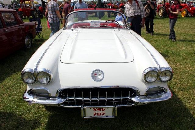 Vintage Chevrolet Corvet