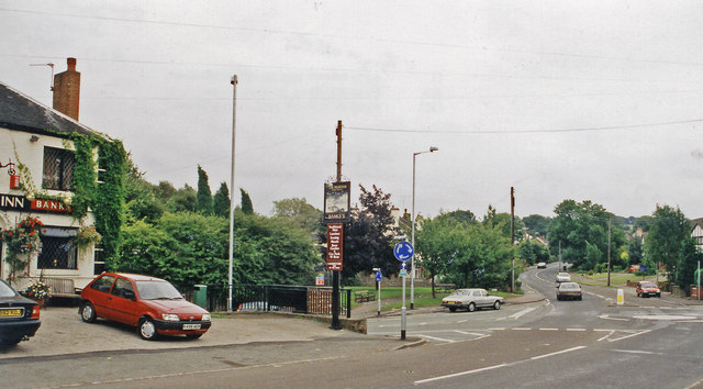 Site of Audley station, 1999