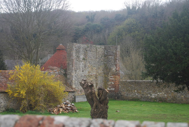 Ruins of Westdean Manor House