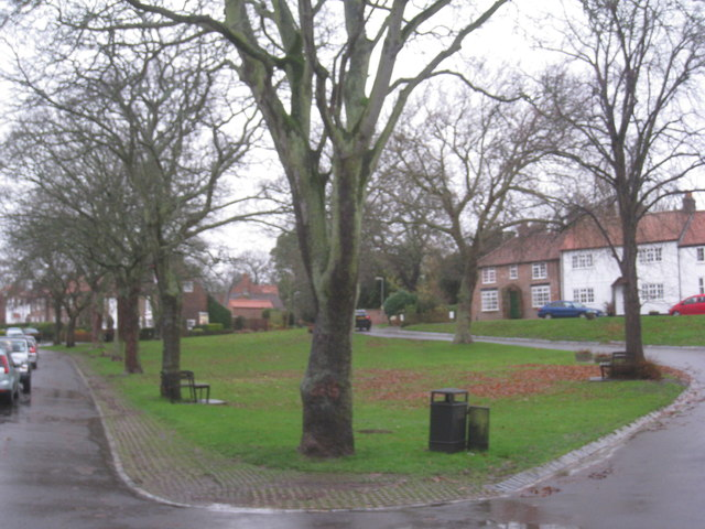 The village green Egglescliffe